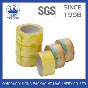 Shrink Packaging Super Clear Yellowish BOPP Tape pictures & photos