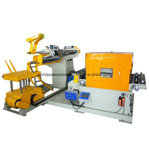 Automatic Stamping Line Use 3 in 1 Decoiler Feeder pictures & photos