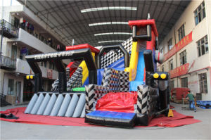 Tractor Freefall Jump and Inflatable Slide Chsp548 pictures & photos