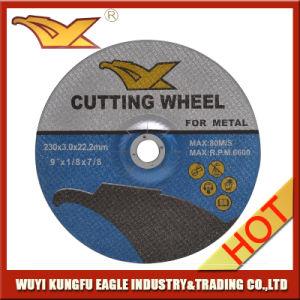 En12413 Standard Abrasive Depressed Center Steel Cutting Wheel pictures & photos
