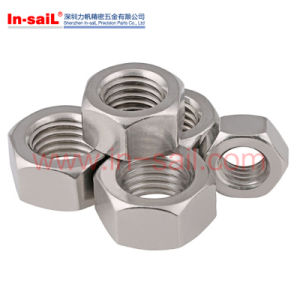 DIN Standard Round Nuts with Drilled Holes Set Pin Holes pictures & photos