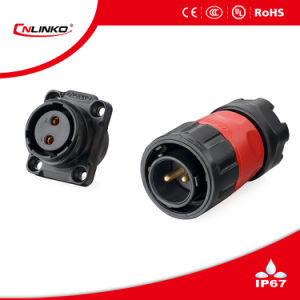 Cnlinko 2 Pin IP67 Plastic Connector for Solar Panel pictures & photos