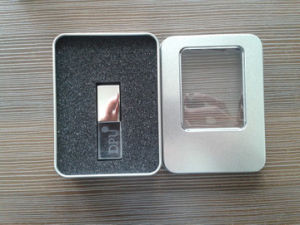 Best Price 3D Logo Crystal USB Flash Momory USB 1GB 2GB 4GB 8GB 16GB 32GB 64GB Pen Drive pictures & photos