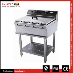 Commercial Standing Deep Fryer with Single Tank Single Basket Dzl-52b pictures & photos