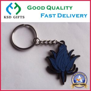 Hot Selling Cheap Cartoon PVC Keyring pictures & photos