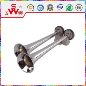 Silver spiral Shape Car Speaker for Motorcycle Accessory pictures & photos