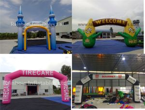 Cheap Inflatable Arch for Sale / Inflatable Arch Rental pictures & photos
