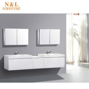 Wall Mounted High Gloss Paint Bathroom Vanity pictures & photos