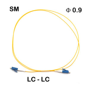 LC/LC φ 0.9 Fiber Optic Patch Cords pictures & photos