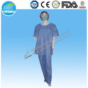 Cheap Manufacture Hospital Gown/Hospital Work Clothing/Wholesale Medical Scrub Suit pictures & photos