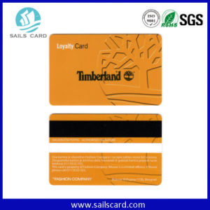 Blank Cr80 PVC Cards with Magnetic Stripe pictures & photos