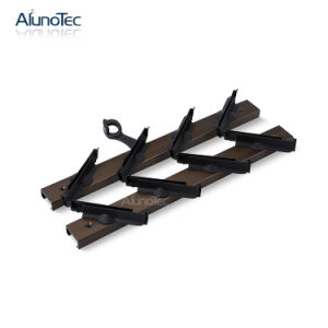 Ventilating Aluminium Louvre Shutter Bracket Gallery in Silver/Brown/Black/White Color pictures & photos
