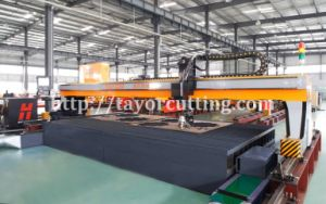 CNC Gantry Plasma 3D Bevel Cutting, Steel Plate Plasma Beveling Cutting Machine pictures & photos