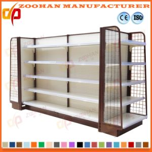 New Customized Supermarket Wooden Metal Store Shelving (Zhs266) pictures & photos