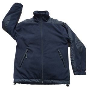 Heavyweight Polar Fleece Winter Jacket, Warm Clothing (HS-J040)