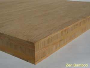 "1.5"" Thick 5 Ply Flat Grain Carbonized Bamboo Plywood pictures & photos"