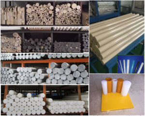 Processing Engineering Plastic Rod Materials pictures & photos