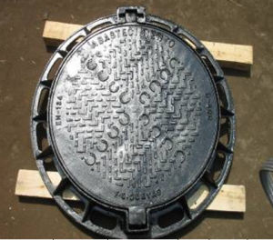 En124, D400 Round Ductile Iron Manhole Cover with Frame pictures & photos