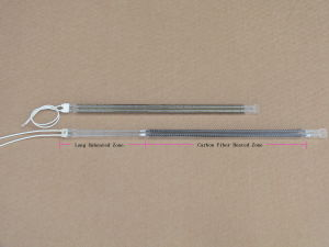Twin Tube Infrared Quartz Heating Tube pictures & photos