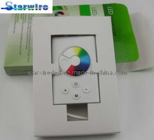 12V Inline RGB LED Strip Controller (Color Wheel) pictures & photos