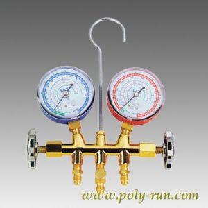 Brass Refrigerant Manifold Pressure Gauges (PR1001A) pictures & photos