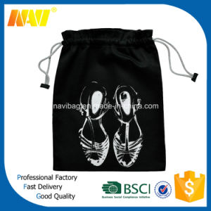 210d Polyester Cheap Drawstring Shoe Bag pictures & photos