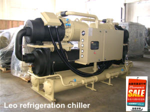 Twin-Screw Compressor Water Cooled Screw Chiller (LLCF) pictures & photos