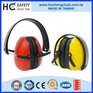 Working Novelty Black Abs Aviation Noise Reduction Ear Muff HC706-1