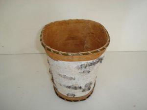 Birch Bark Craft-Waste Box