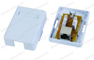 Built-in Keystone Jack CAT6 Surface Mount Junction Box pictures & photos