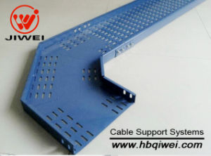 Powder Coated Steel Perforated Cable Tray with CE/SGS/ISO Certificates