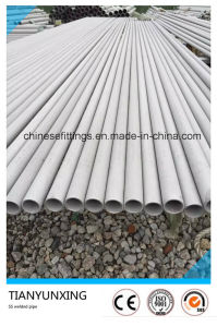 Fixed Length Ss304 Stainless Steel Welded Pipe pictures & photos