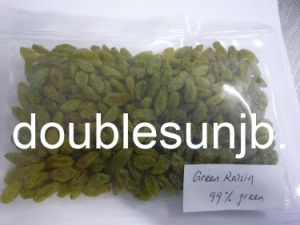 Dried Seedless Green Raisin