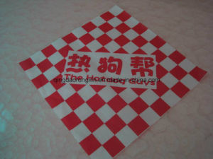 Food Grade Hamburger Packaging Paper pictures & photos