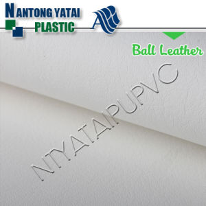 Eco-Friendly Elastic PU Synthetic Soccer Ball Leather