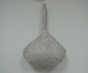 Elegant Mesh Handbag with Stones pictures & photos