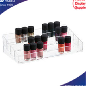 Acrylic Clear Cosmetic Organizer with Drawres, Nail Organizer pictures & photos
