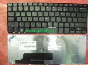 Laptop Keyboard for DELL Inspiron M101 M101z 1120 M102 US Layout/Frame pictures & photos