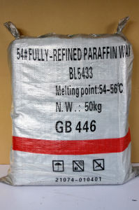 Fully Refined Paraffin Wax (54/56) pictures & photos