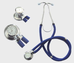 Medical Gift Deluxe Stethoscope with Color (KS-116) pictures & photos