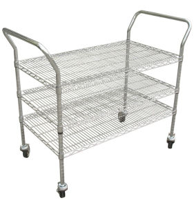 ESD Trolley Plate SMT Shelf Rack Trolley (3W-98064) pictures & photos