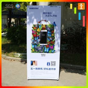 Foldable X Stand Banner for Promotion pictures & photos