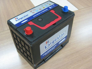 Auto Dry Charged Battery Rechargeable Lead Acid Battery Storage Batterymf N50 pictures & photos