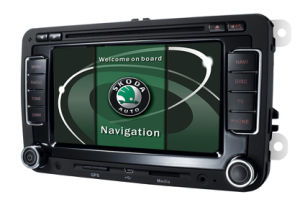 Wholesale Car DVD GPS for Skoda Fabia/Superb/Octavia with 3G/DVD/Bt/GPS/Pip/6CD/DVBT/Tmc/OPS/AC/iPhone/iPod/Radio/RDS/Pip