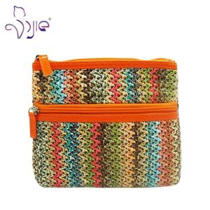 Fashion Ladies Colorful Special Material Makeup Cosmetic Bag