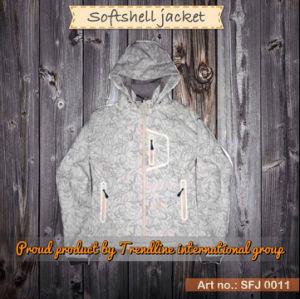 Fashion Waterproof Breathable Outdoor Softshell Jacket (SFJ 0011)