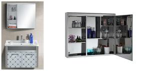 Stainless Steel Mirror Cabinet/ Bathroom Cabine U-7003