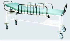 Epoxy Powder Coated Frame Hospital Patient Transfer Trolley (G-3) pictures & photos