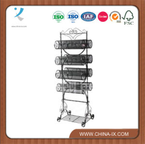 Metal Floor Standing Gift & Accessories Display Stand pictures & photos