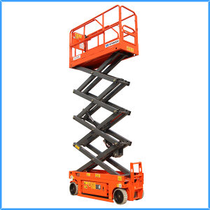 8m Mobile Hydraulic Scissor Lift